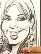 SoCals best caricature artist for parties and events Artist #4 in Placentia CA
